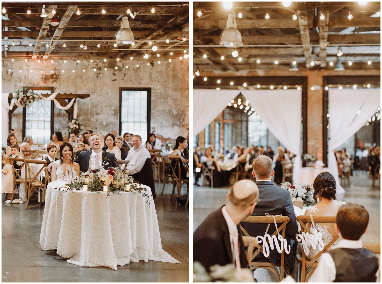 Baltimore wedding photographer | Mt Washington Mill Dye House wedding reception | Baltimore Maryland wedding