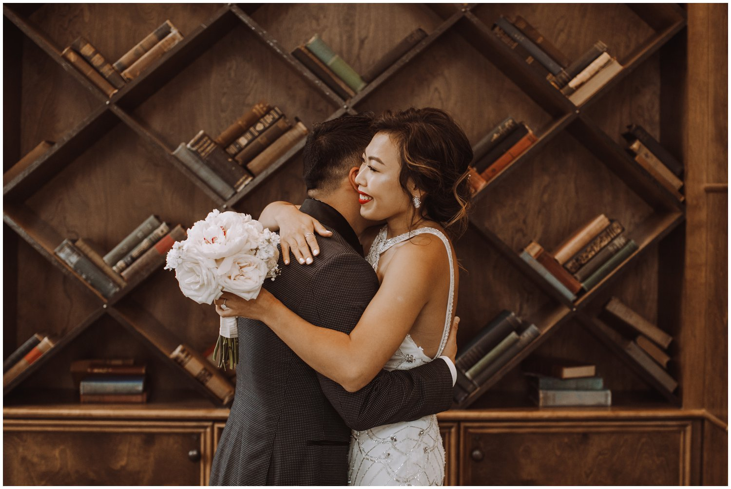Peabody Library Wedding | Hotel Revival Baltimore Wedding | Art Deco Wedding | Baltimore City Wedding | Kate Ann Photography