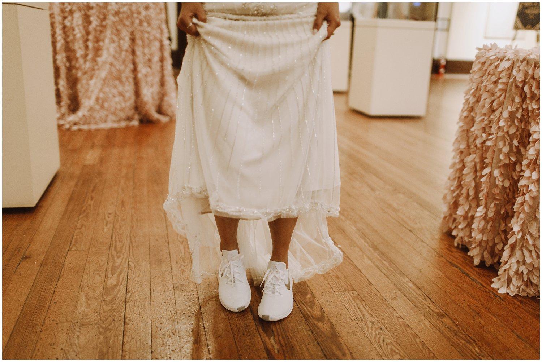 Peabody Library Wedding reception | Baltimore Wedding Photographer | Art Deco Wedding Photography | Kate Ann Photography | Nike Bride