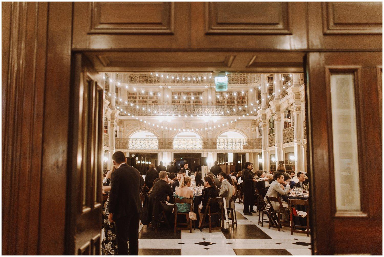 Peabody Library Wedding | Baltimore Wedding Photographer | Art Deco Wedding Photography | Kate Ann Photography