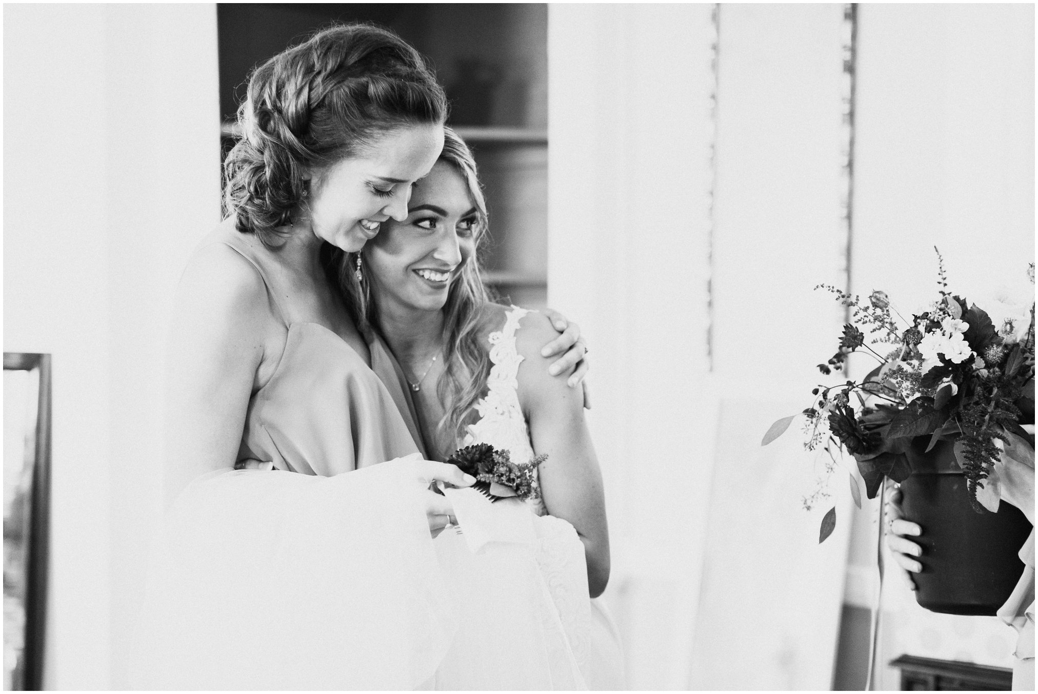 Annapolis Wedding Photographer, Kate Ann Photography, Timberlake Farm, Timberlake Farm Wedding, Airbnb wedding, Annapolis Bride, Bridesmaids First Look