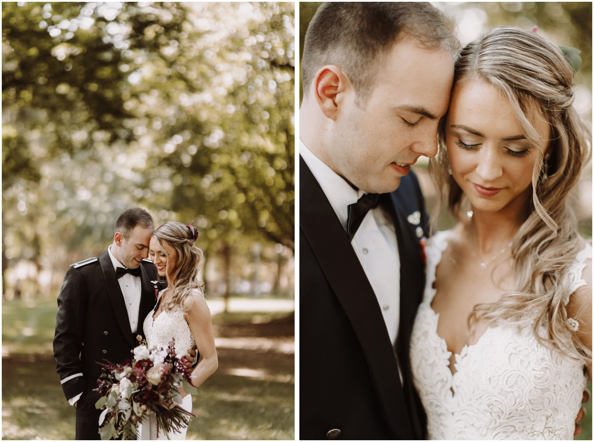 Air Force Bride and Groom Pictures