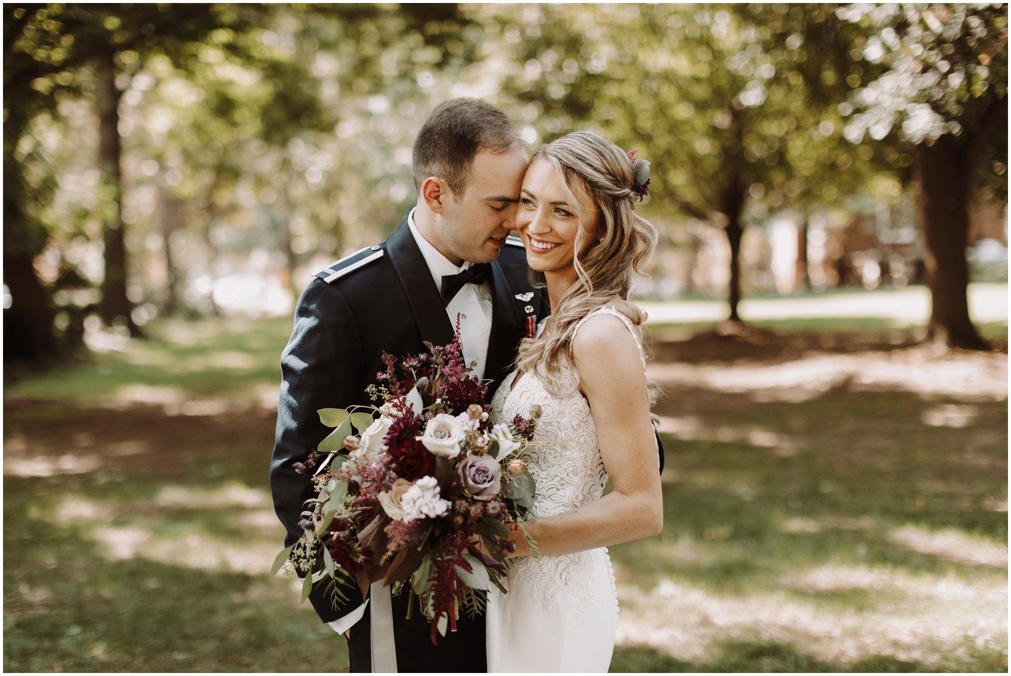 2019 Military Air Force Wedding Photos