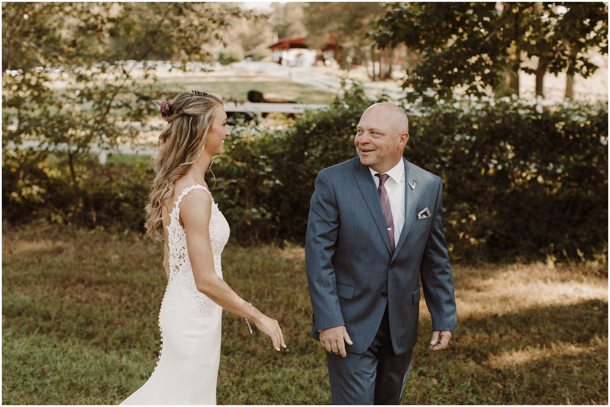 Annapolis Wedding Photographer, Kate Ann Photography, Timberlake Farm, Timberlake Farm Wedding, Annapolis Bride, Father Daughter First Look
