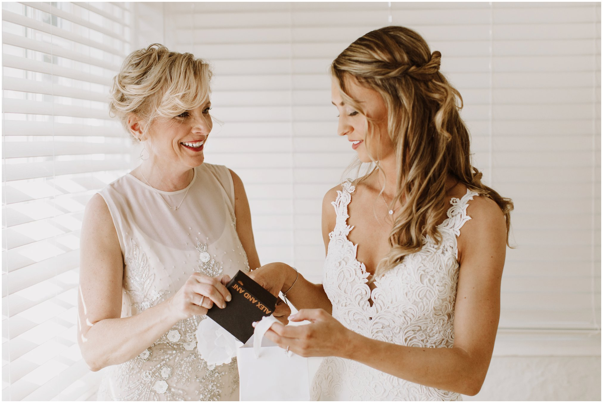 Mom and Bride Picture