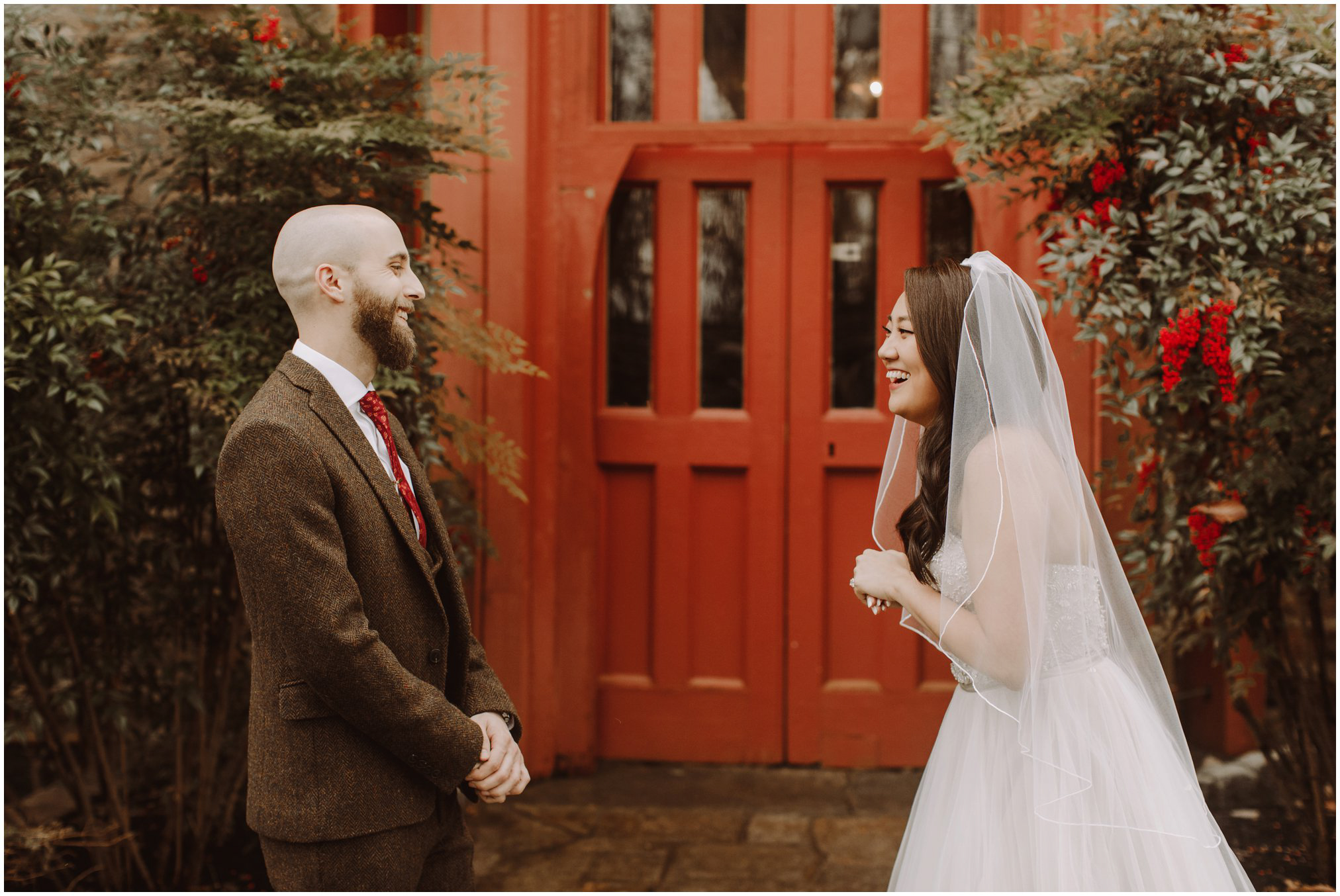 Magical Harry Potter Themed Wedding at the Cloisters Castle Wedding Venue in Maryland