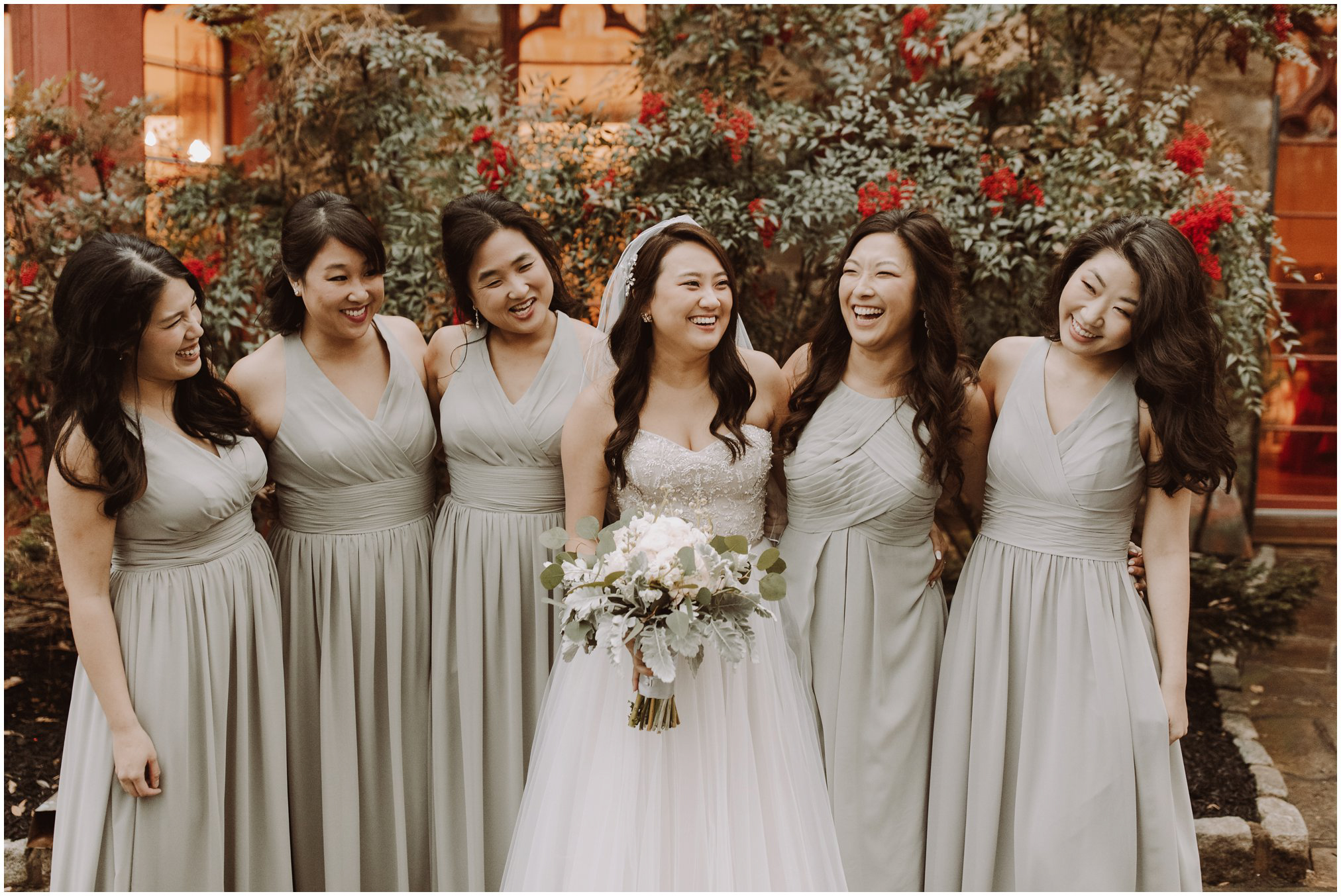 Bridesmaid Pictures at Cloisters Castle
