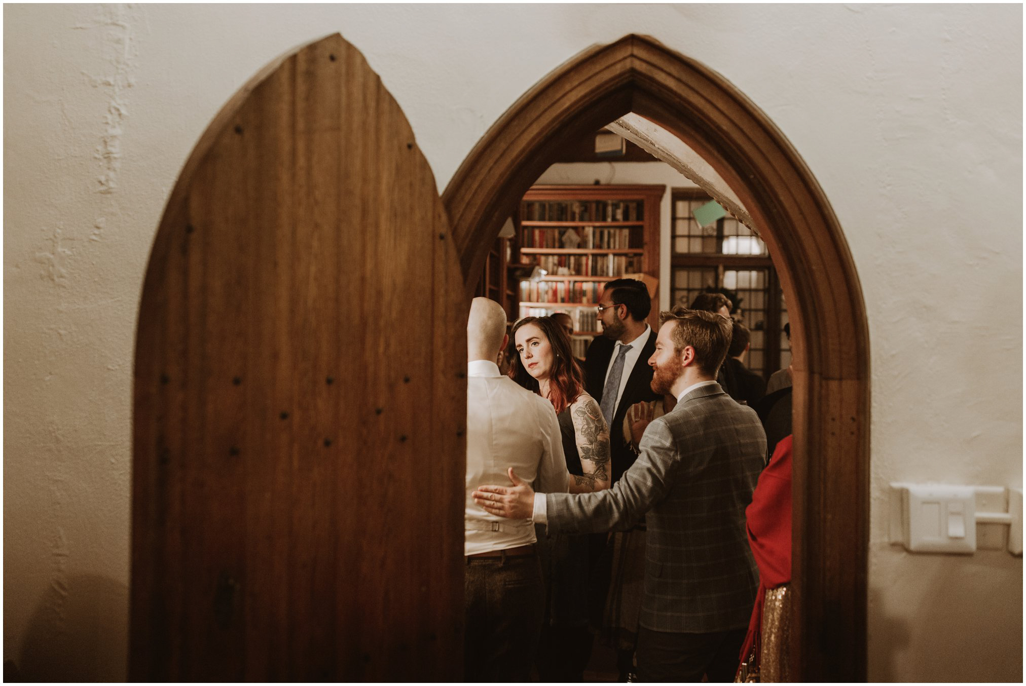 Harry Potter Themed Winter Wedding Reception at Cloisters Castle