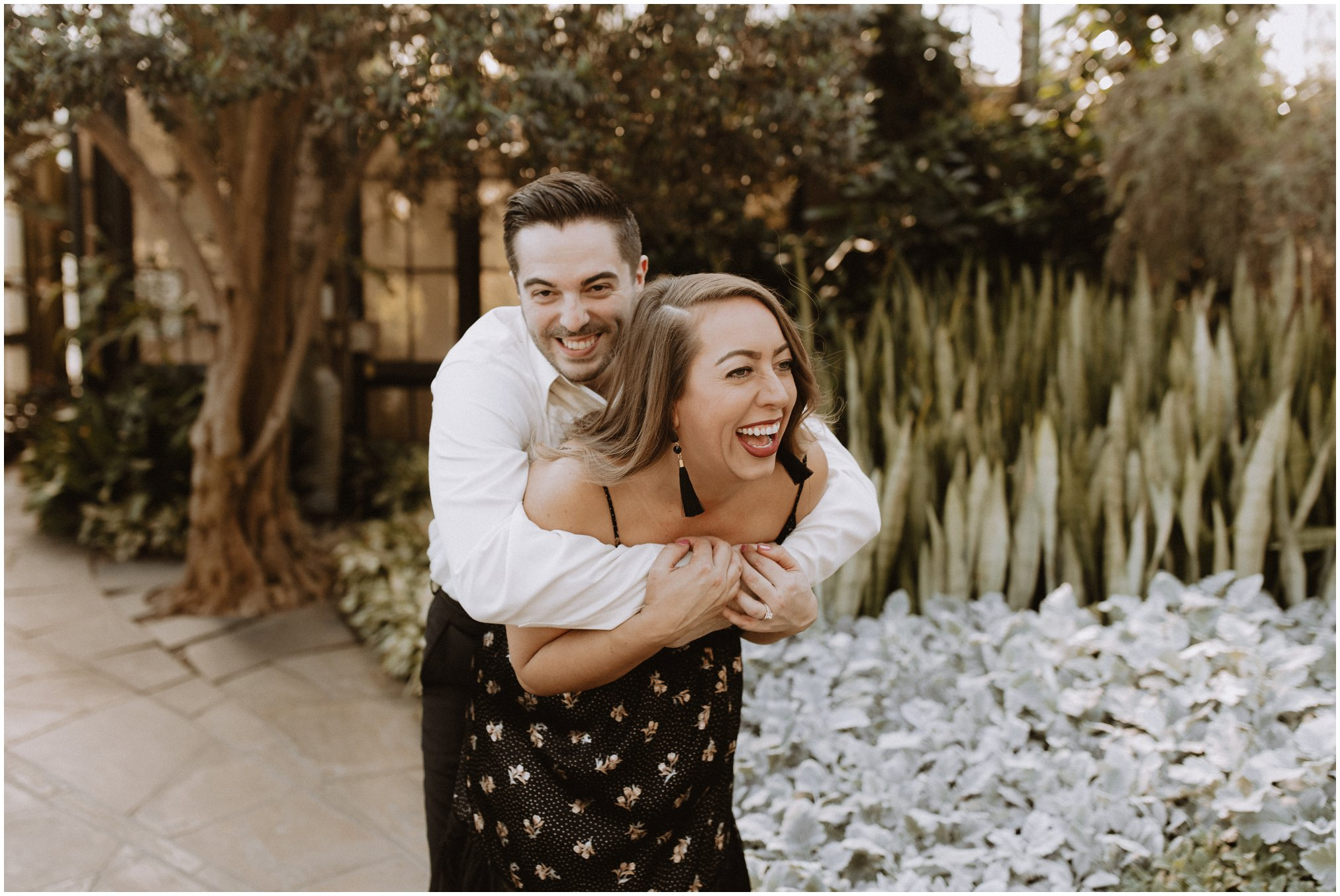 Longwood Gardens Engagement Pictures