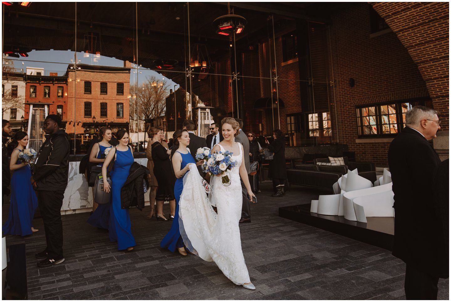 Baltimore City wedding