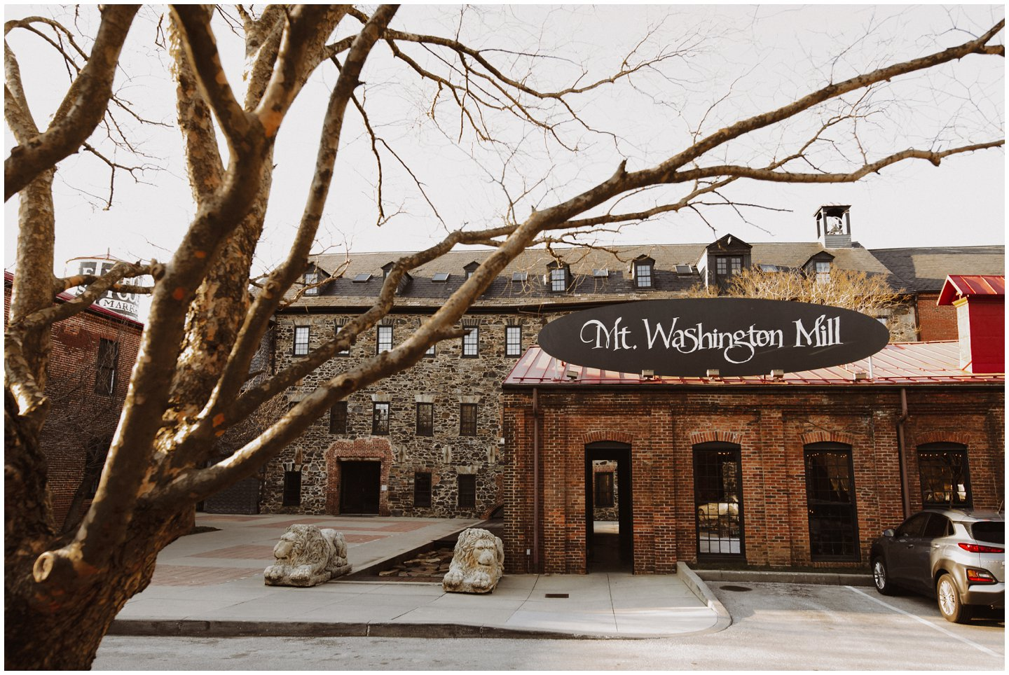 Mt. Washington Mill Dye House by Maryland Wedding Photographer
