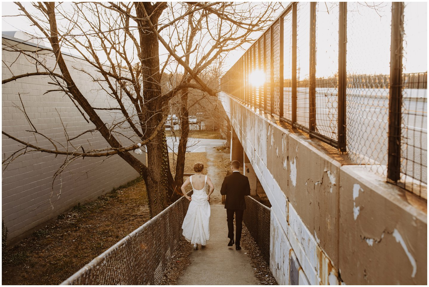 urban wedding pictures