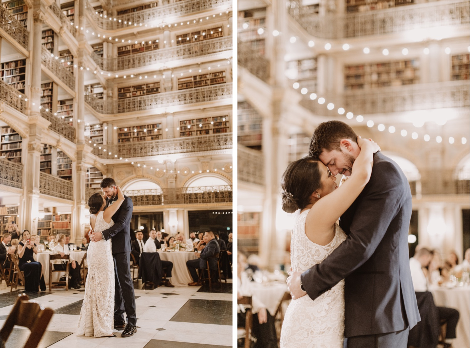 Best Maryland Wedding Venues | Peabody Library Wedding