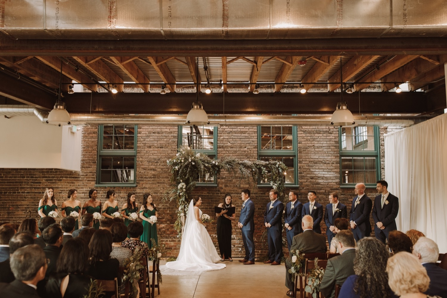 Best Maryland Wedding Venues | The Winslow Room Wedding Ceremony