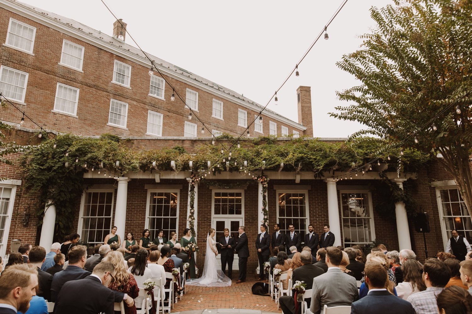 Best Maryland Wedding Venues | Tidewater Inn Wedding Ceremony