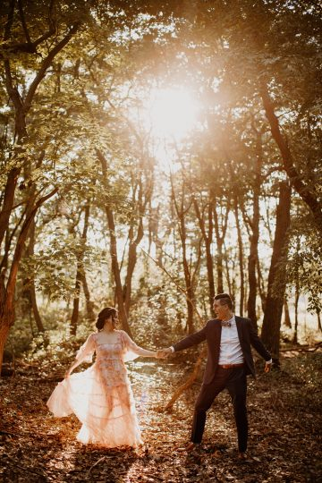 Relaxed Maryland Forest Elopement Photos