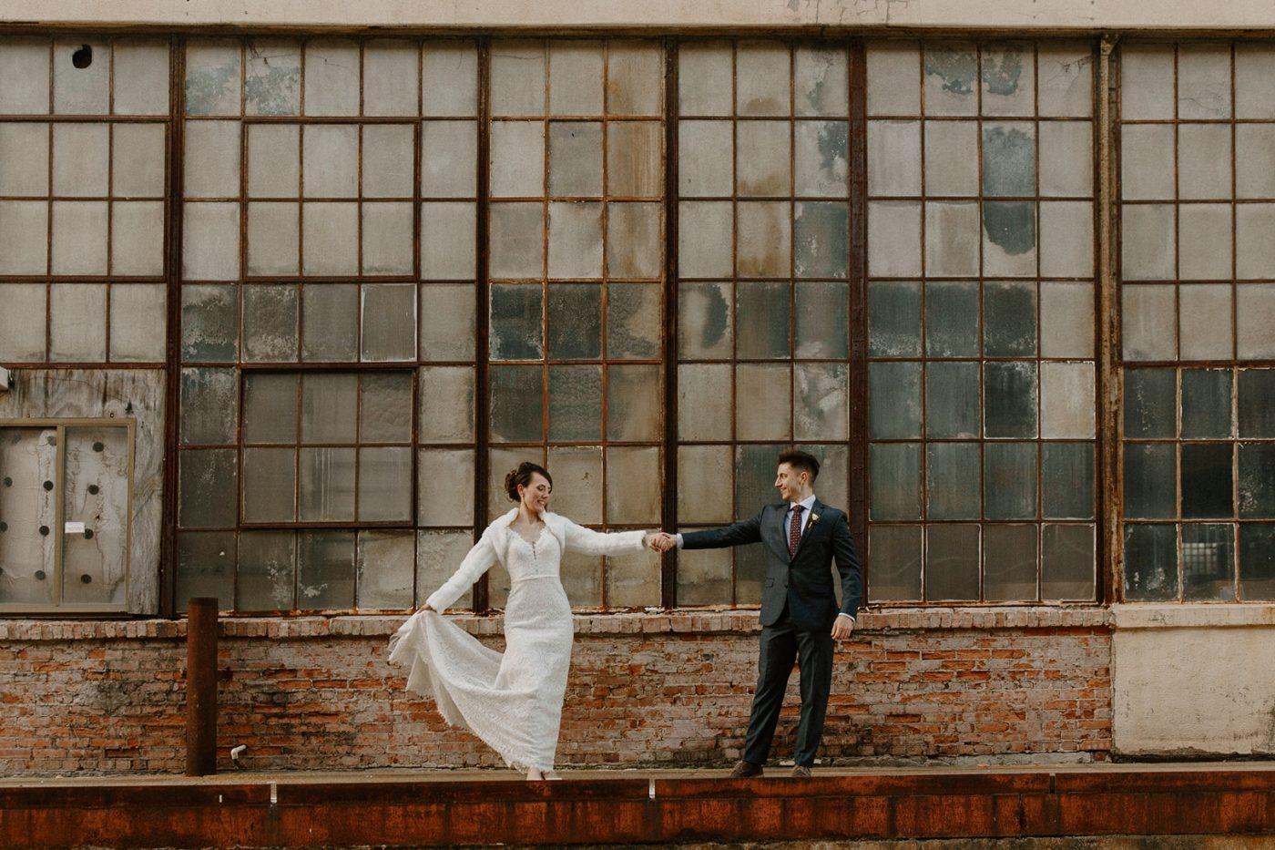 Corradetti Glassblowing Studio Wedding Photos with Alyson and Micheal