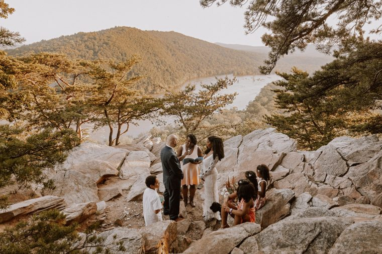 Maryland Mountain Top Elopement